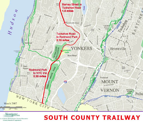 SCT Yonkers Unfinished segment